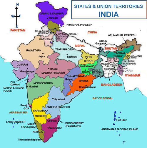 India General Information - India Facts and History